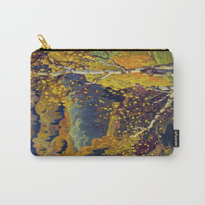 Franklin Carmichael Canadian artist Art Nouveau Post-Impressionism October Gold Carry-All Pouch