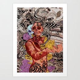 Real OK Art Print