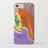 sister iPhone & iPod Cases featuring SISTER by KEVIN CURTIS BARR'S ART OF FAMOUS FACES