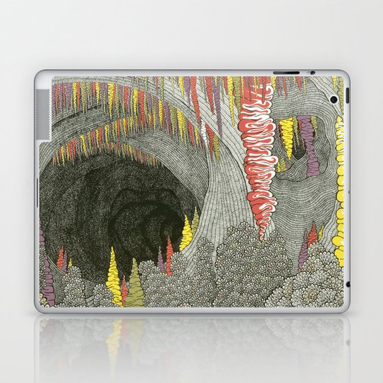 Color Cave Laptop & iPad Skin