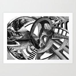 BigBang Art Print