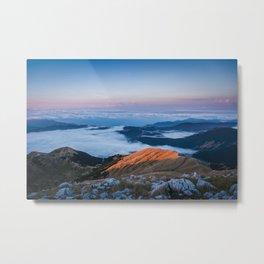 Lake clouds Metal Print