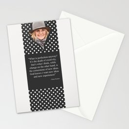 Diane Keaton Quote Stationery Cards