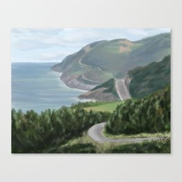 Cabot trail 1 Canvas Print