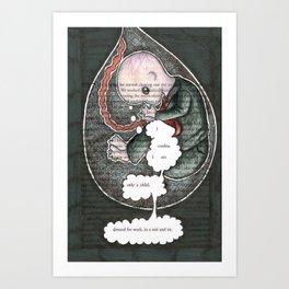 Thirteen. Art Print