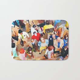 Wisdom of Crowds Bath Mat