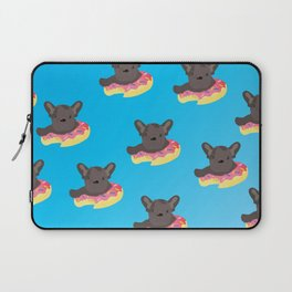 Pups in Donuts Laptop Sleeve