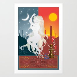 Opio Art Print