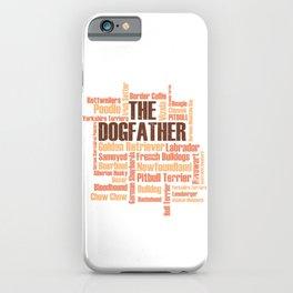 Dog Dogs Dogfather dog breeds Labrador Bulldog iPhone Case