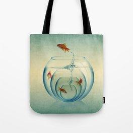 Goldfish Bowl Tote Bag