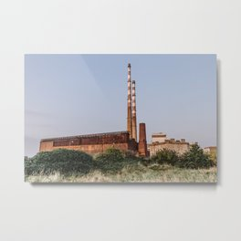 Poolbeg Power Station Metal Print
