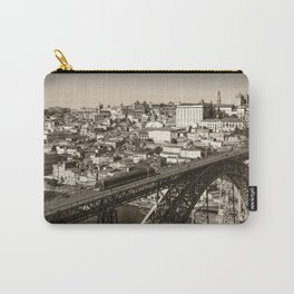 Porto sepia Carry-All Pouch
