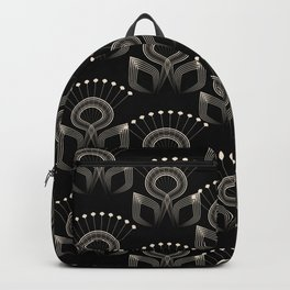 Art Deco 34 . The bird's tail . Backpack