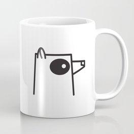 Minimalist Raccoon Coffee Mug