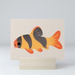 Clown loach Mini Art Print