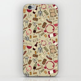 A good time for wine iPhone Skin