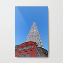 Tele-Shard Metal Print