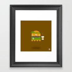 Boo-rista Framed Art Print