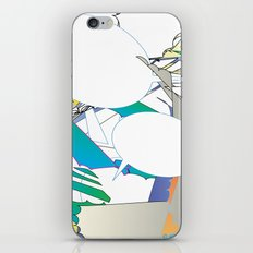 Color #6 iPhone & iPod Skin