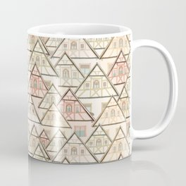 Pattern Houses Coffee Mug