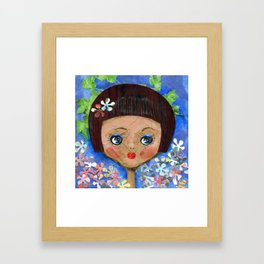 Dollface Framed Art Print