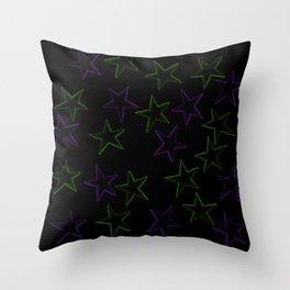 LEGGINGS STARS Throw Pillow