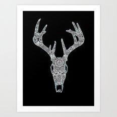 Penglog Ceirw Art Print