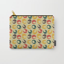 Mid-Century Modern Martini (gold) Carry-All Pouch