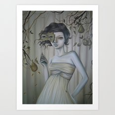 Fall Into Decay Art Print