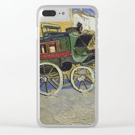 Vincent Van Gogh - The Tarascon Diligence, 1888 Clear iPhone Case