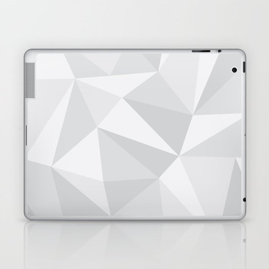 White Deconstruction Laptop & iPad Skin