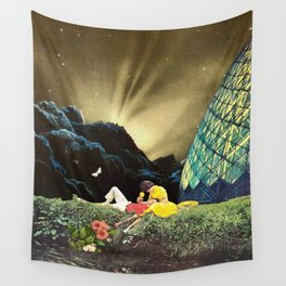 Postcard from New Iceland Wall Tapestry