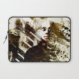 Splatter-Portrait Laptop Sleeve