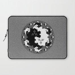 Fractal Taijitu Laptop Sleeve
