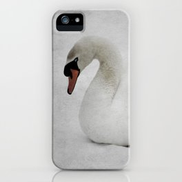The Ancient Swan iPhone Case