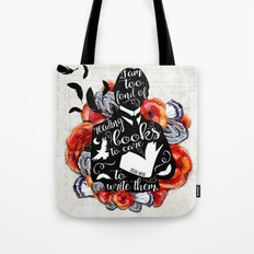 Picture of Dorian Grey - Too Fond of Reading Tote Bag
