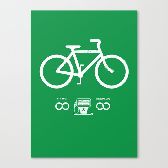 Infinity MPG (Society6 Edition) Canvas Print