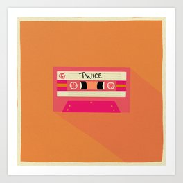 Twice - Retro - Kpop Art Print