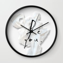 be u Wall Clock