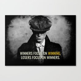 PB Focus on Winning Canvas Print