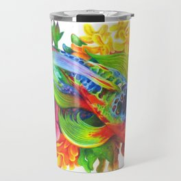 Rainbow Koi Travel Mug
