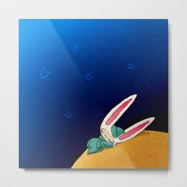 Sleeping Toki Metal Print