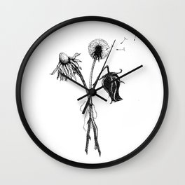 Grow Old Along With Me Wall Clock