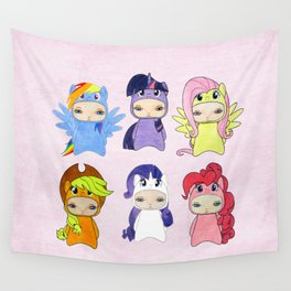 A Boy - Little Pony Wall Tapestry