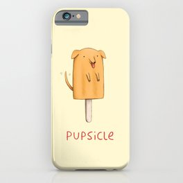 Pupsicle iPhone Case