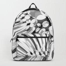 Hallucination flower B/W variant Backpack