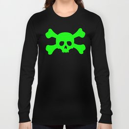Toxic Skull Long Sleeve T-shirt