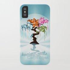 The Four Seasons Bubble Tree Slim Case iPhone X