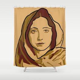 Anaïs Nin Shower Curtain