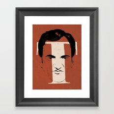 T is for Tarantino Framed Art Print